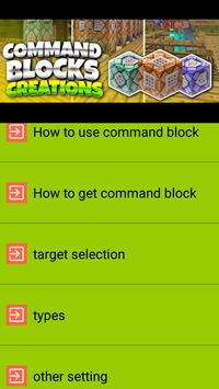 Command Block Guia screenshot 1