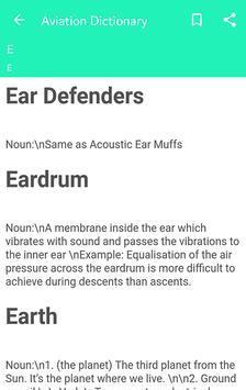 Aviation Dictionary screenshot 1