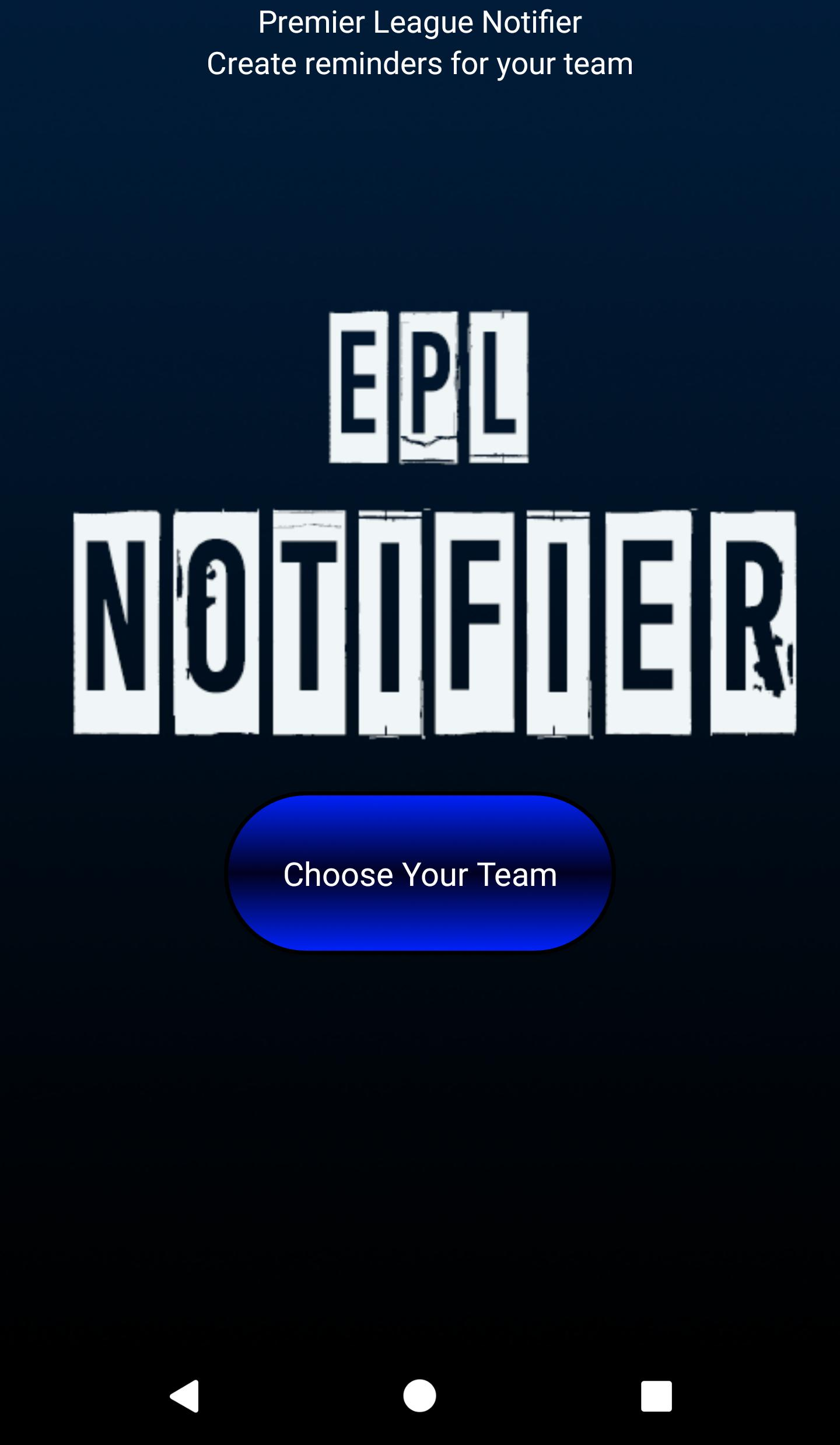 EPL Notifier for 1xBET for Android - APK Download