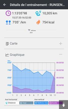 Epson Run Connect capture d'écran 2