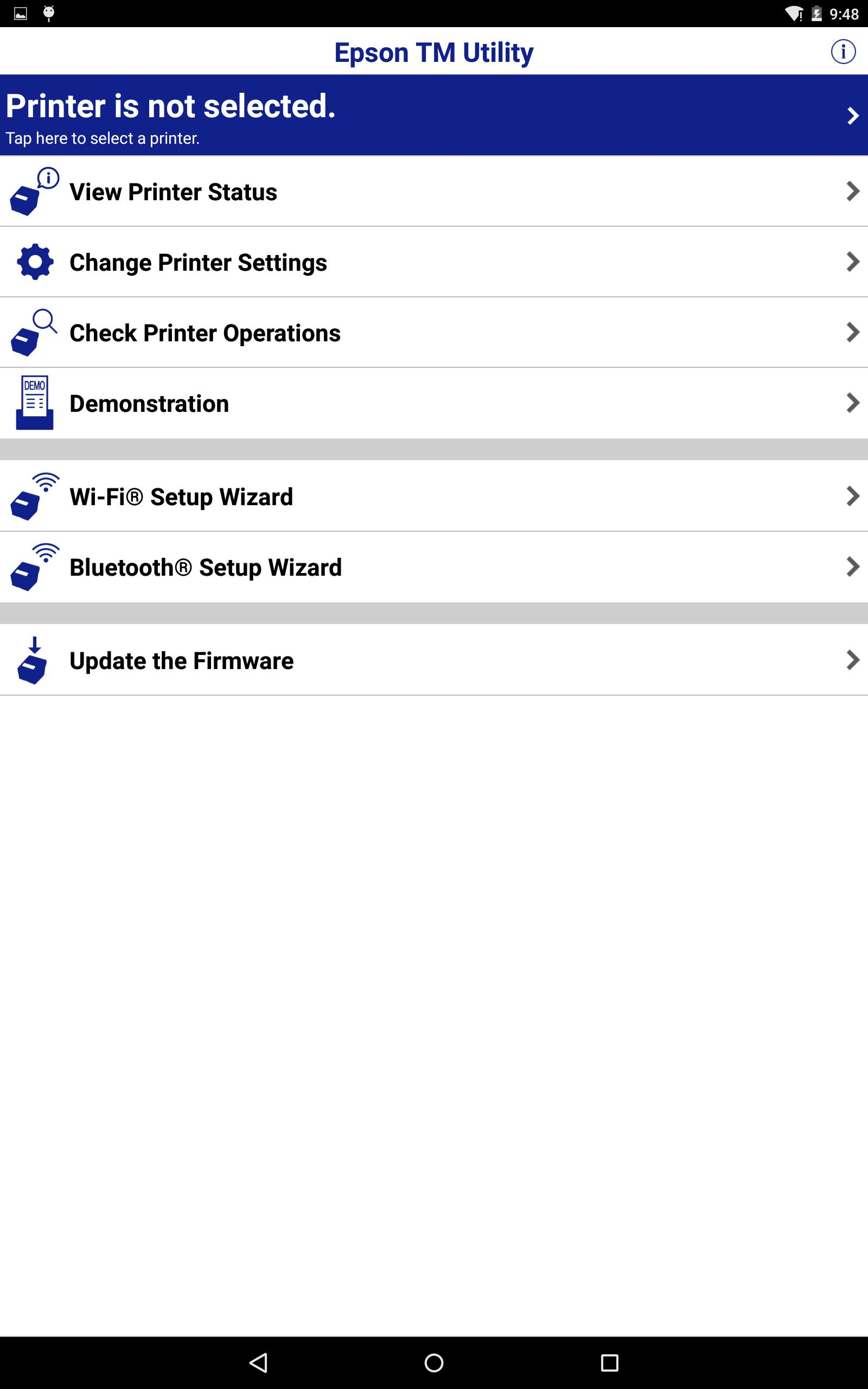 Epson TM Utility for Android - APK Download