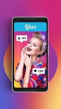 Likes for Instagram screenshot 3