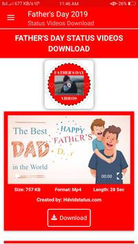Fathers Day Status Videos Download poster