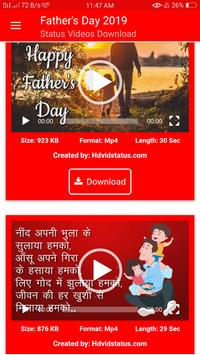 Fathers Day Status Videos Download screenshot 2