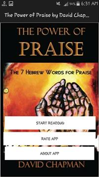 The Power of Praise: The 7 Hebrew Words for Praise poster