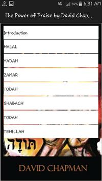 The Power of Praise: The 7 Hebrew Words for Praise screenshot 1