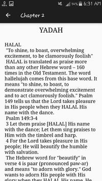 The Power of Praise: The 7 Hebrew Words for Praise screenshot 2
