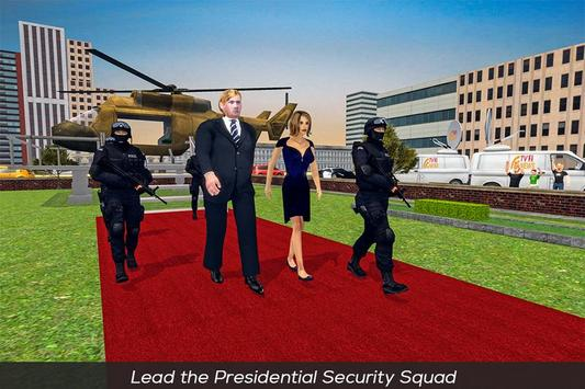 US President Helicopter & Limo Security Driver poster