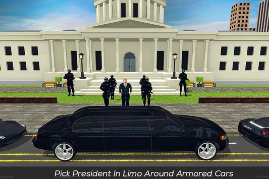US President Helicopter & Limo Security Driver screenshot 1