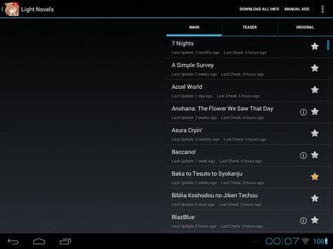 BakaReader EX screenshot 6