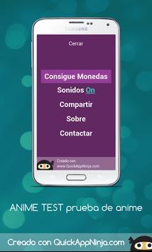 ANIME TEST in Spanish: Adivina el anime screenshot 5