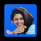 Priya Prakash Varrier Sticker for Whatsapp icon