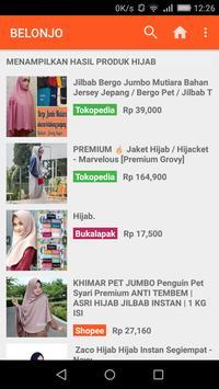 Belonjo Online - Cari Produk dengan Harga Terbaik screenshot 3