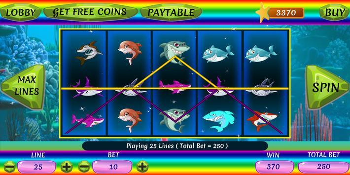 Shark Slots screenshot 2
