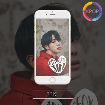 Jin Wallpaper HD 💕💕 screenshot 3