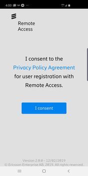 Ericsson Remote Access 2.0 poster