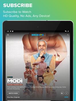 Eros Now for Android TV ảnh chụp màn hình 8