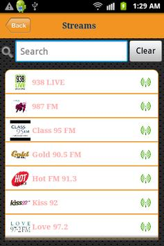 Singapore Radio screenshot 1