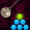 HEXASMASH • Wrecking Ball Physics Puzzle ikon