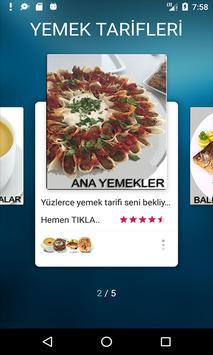 Yeni Yemek Tarifleri Çorba Ana Yemek Balık Makarna screenshot 9