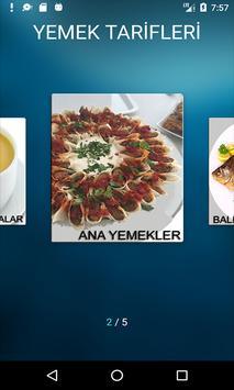 Yeni Yemek Tarifleri Çorba Ana Yemek Balık Makarna poster