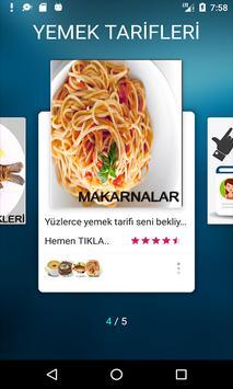 Yeni Yemek Tarifleri Çorba Ana Yemek Balık Makarna screenshot 13