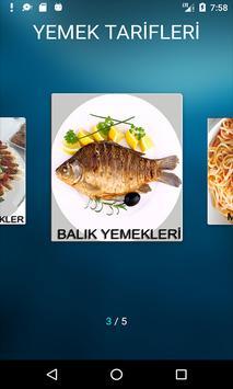 Yeni Yemek Tarifleri Çorba Ana Yemek Balık Makarna screenshot 3