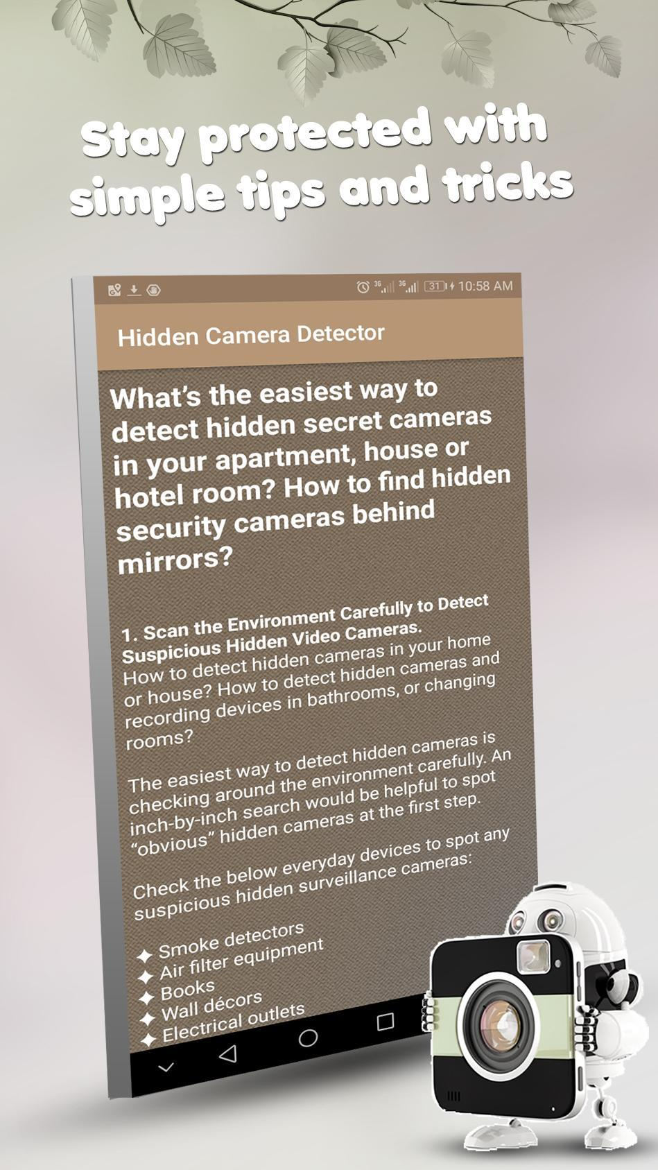 Hidden Camera Detector For Android Apk Download