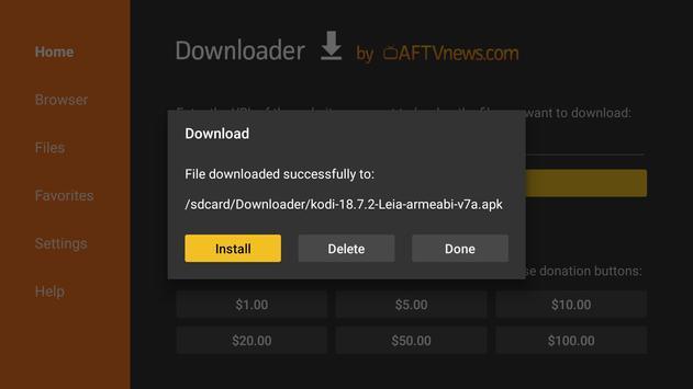 Downloader screenshot 2