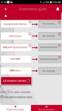 ESGO Gynae Cancers Algorithms screenshot 1
