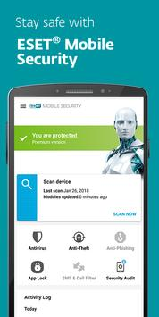 ESET Mobile Security poster