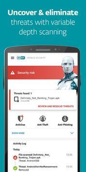 ESET Mobile Security screenshot 1