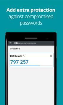 ESET Secure Authentication स्क्रीनशॉट 1