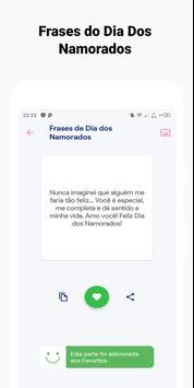 Frases do Dia Dos Namorados screenshot 5