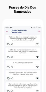 Frases do Dia Dos Namorados screenshot 1