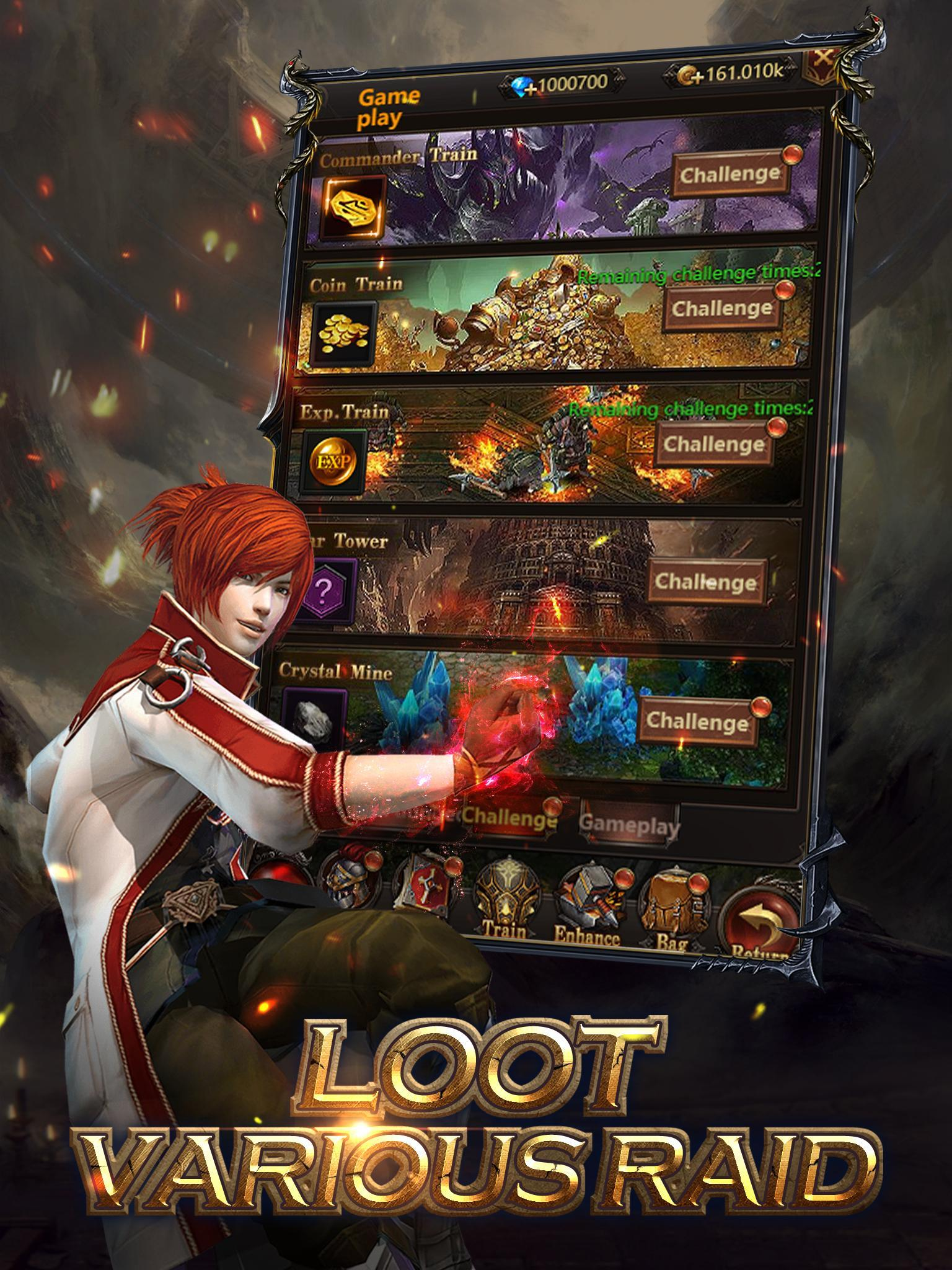 Holy Hunter: Idle MMORPG for Android - APK Download