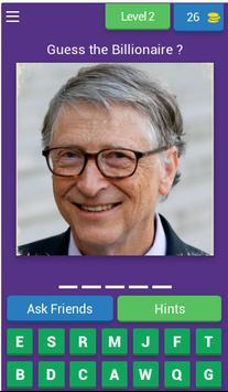 Billionaires in the World (Fan Made) screenshot 2