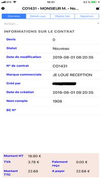 ESIE RENTAL MANAGER screenshot 1