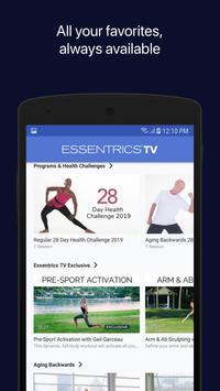 Essentrics Workout screenshot 2