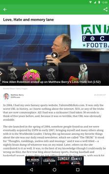 ESPN Fantasy screenshot 10