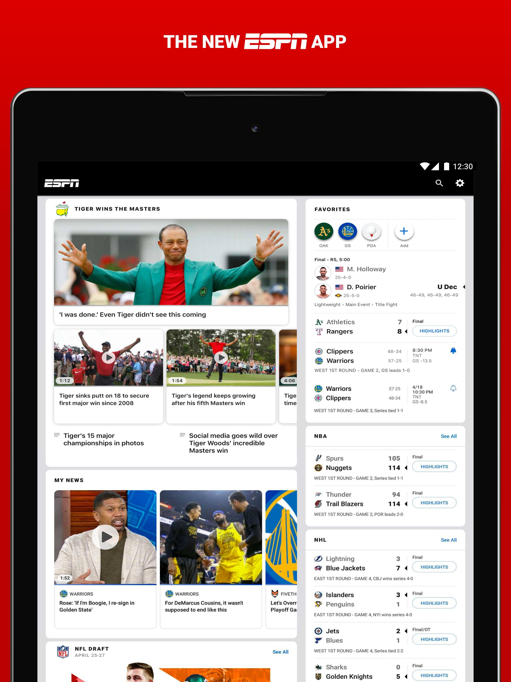 ESPN for Android - APK Download