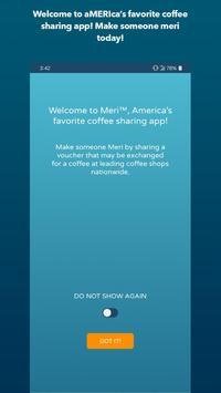 Meri Coffee Sharing App poster