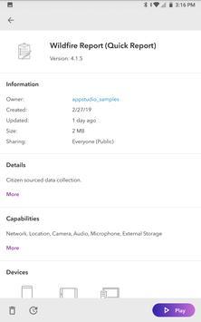 AppStudio Player for ArcGIS capture d'écran 10