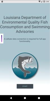 DEQ Fish Advisories poster