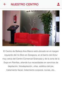 Estética Ana Marco screenshot 1