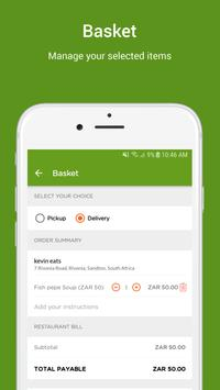 SpazaEats Customer Food Delivery screenshot 3