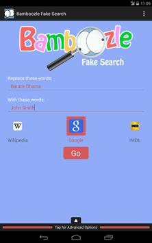 Bamboozle Fake Search screenshot 16
