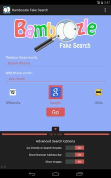 Bamboozle Fake Search screenshot 17