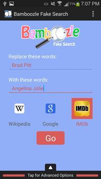Bamboozle Fake Search screenshot 6