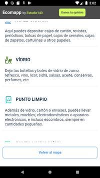 Ecomapp - Localiza contenedores en Madrid screenshot 1